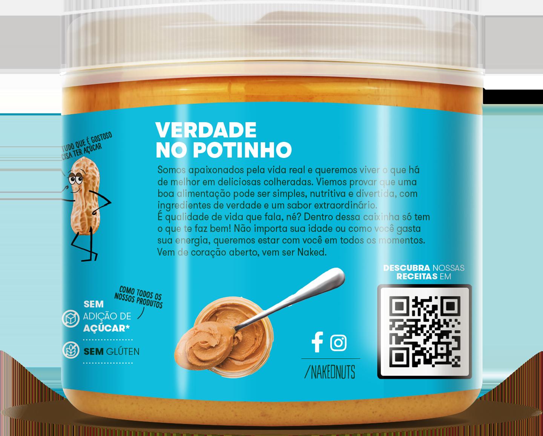 Naked Nuts ®   Pastas de Amendoim e Castanha de Caju